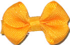 Infant Solid Color Bow Yellow Gold