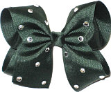 Large Evergreen Jeweled Bow