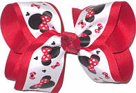 Large Minnie over Red