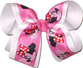 Large Minnie over White