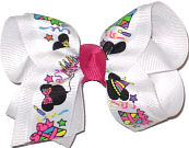 Toddler Mickey and Minnie Party Bow