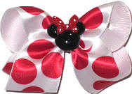 Toddler Bow with Minnie Pin