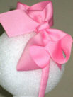 Medium Hot Pink Grosgrain Headband