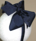 Medium Navy Grosgrain Headband