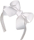 Medium White Headband