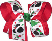 Large Minnie Christmas Bow