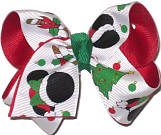 Toddler Minnie Christmas Bow