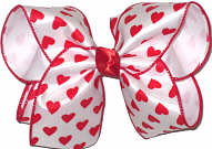 Large Valentine's Bow