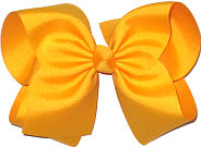 MEGA Extra Hair Large Hair Bow Yellow Gold