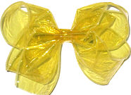Large Yellow Jelly Bow
