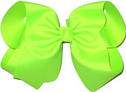 MEGA Extra Large Bow Neon Lime