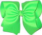 MEGA Extra Large Bow Neon Green