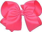 MEGA Extra Large Bow Tutti Fruity (Neon Hot Pink)