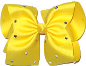 Mega Maize with Rhinestones Jeweled Bow