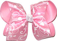 Large Valentine's Day Bow Large Double Layer Bow
