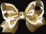 Toddler Dijon Satin Bow