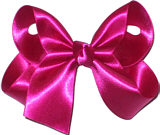 Medium Azalea Satin Bow