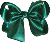 Medium Hunter Satin Bow