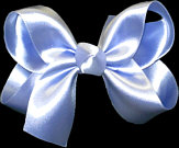 Medium Tropic Lilac Satin Bow