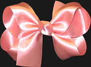 Medium Watermelon Satin Bow