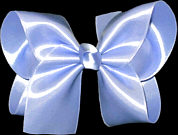 Large Tropic Lilac Satin Bow