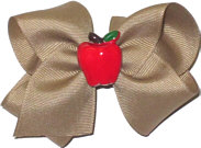Toddler Khaki with Apple