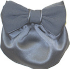 Grey Satin Snood