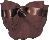 Brown Crepe Snood