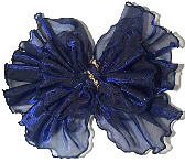 Large Lt Navy Fashion Bow