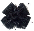 Large Fashion Bow  Sold Out. Available only in Navy with White Pearl Ti