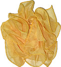 Yellow Gold Chiffon Clippie