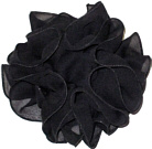 Black Chiffon Clippie